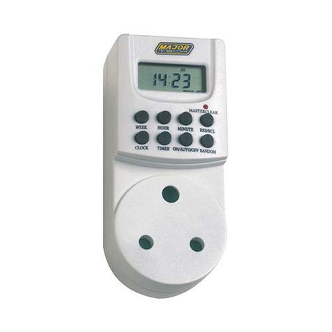 8 On/Off Digital Programmable Timer