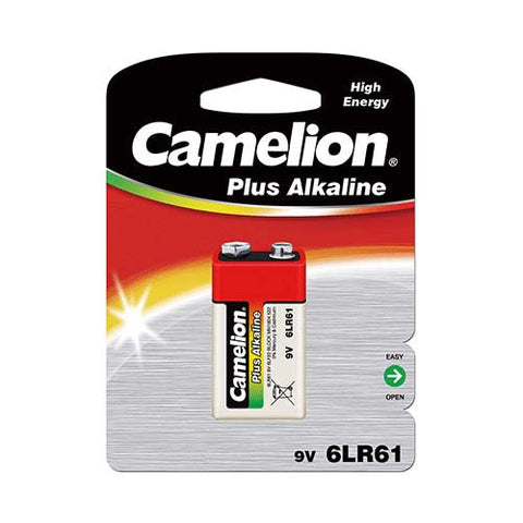 9V Type, Plus Alkaline Battery (1 Piece Blister)