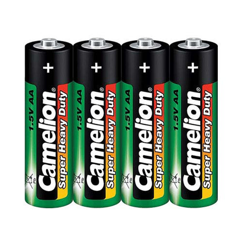 AA Type - 1.5V Super Heavy Duty Battery (4 Piece Shrink Pack)
