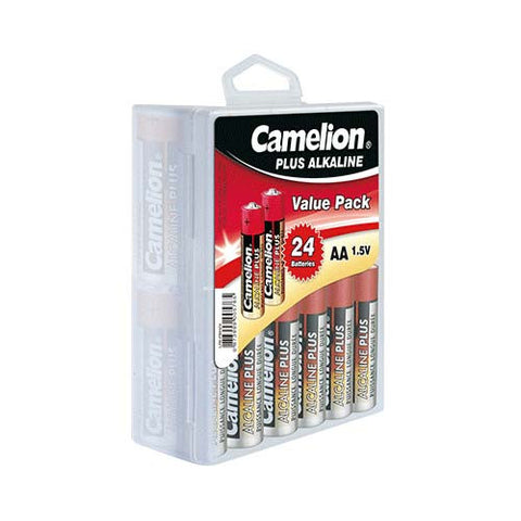 AA Type - 1.5V Plus Alkaline Battery Value Pack (24 piece Box)