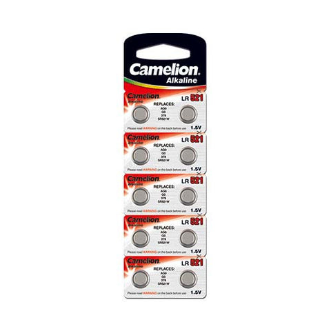 Alkaline Button Battery (10 Piece Blister Pack)