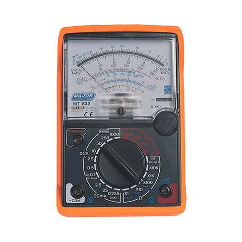 Analogue Multimeter with Rubber Holster