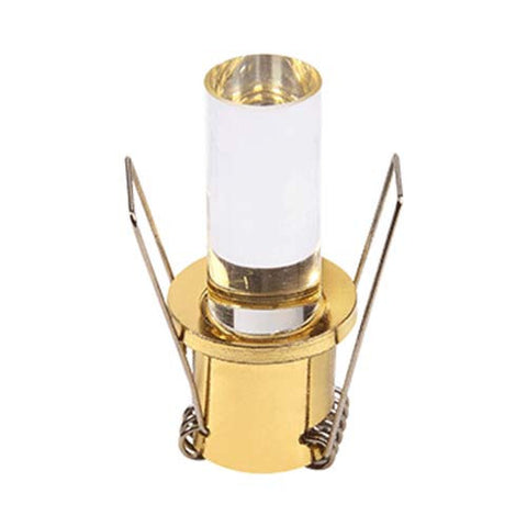 B1 1W LED Gold Cyliner Starlight - 25mm Cut Out