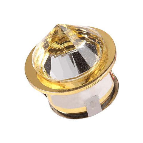 B1 1W LED Gold Diamond Starlight - 25mm Cut Out