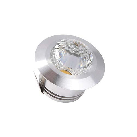 B1 3W LED Round Diamond Starlight  - 40mm Cut Out