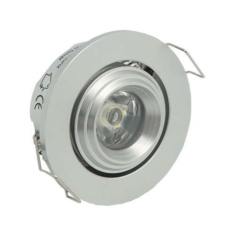 B2 3W LED Tiltable Round Starlight - 45mm Cut Out