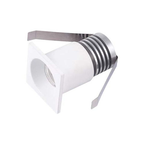 B3 3W Square LED Midi Ceiling Light - 30mm Cut Out