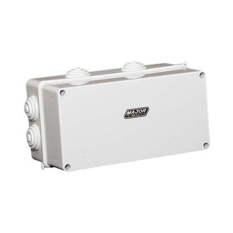 IP55 Junction Box with Knock Outs - 200mm x 100mm x 110mm