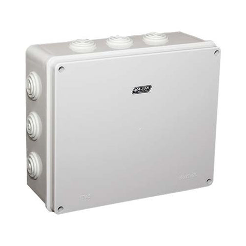 IP55 Junction Box with Rubber Gland - 300mm x 250mm x 120mm