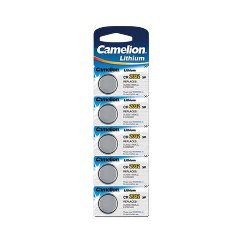 Lithium Button Battery (5 Piece Blister Pack)