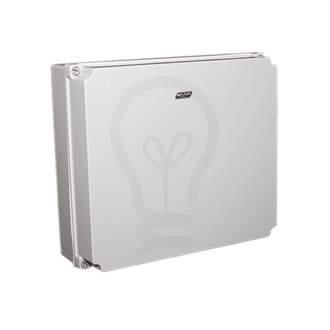 Grey IP65 Enclosure - 400mm x 350mm x 130mm