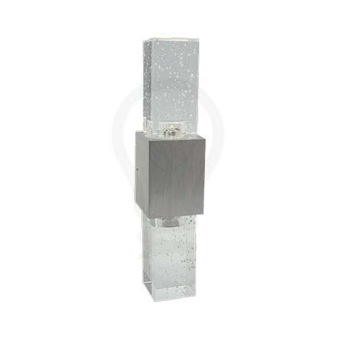 W1 2 x 1W Column LED  Wall Light