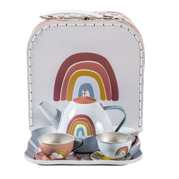 Rainbow Tea Set