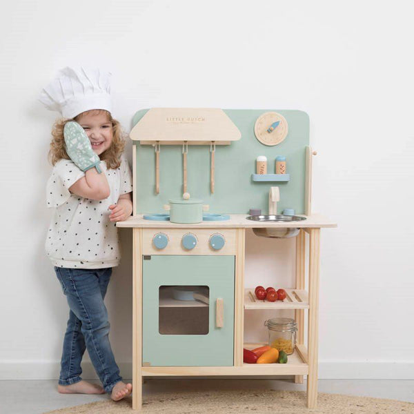 Wooden Play Kitchen