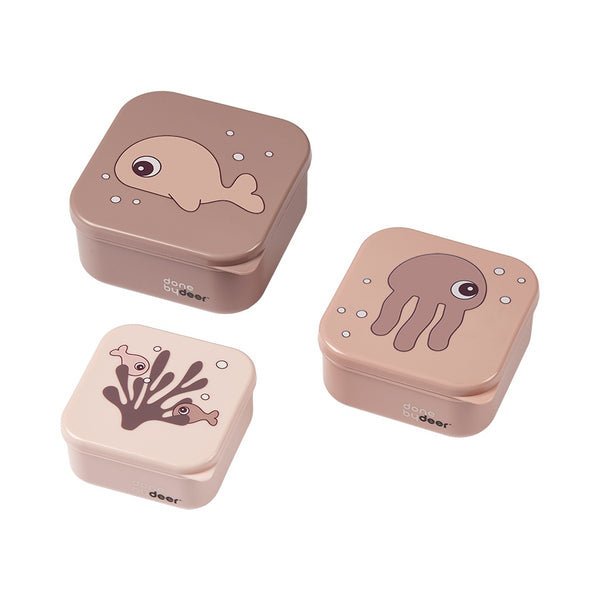 Pink Snack Boxes Set
