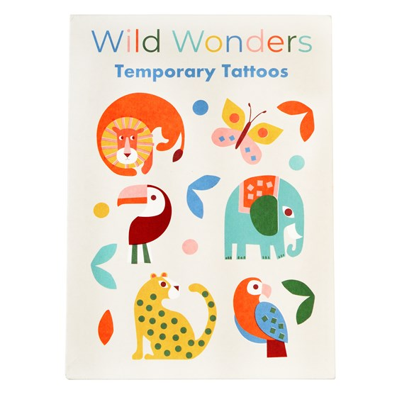 Wild Wonder Temporary Tattoos (2 Sheets)