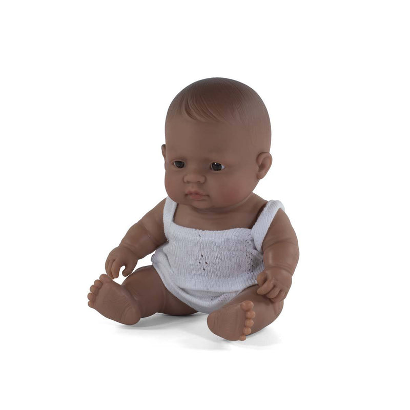 Hispanic Baby Girl Doll - 21cm