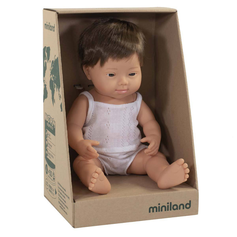Down Syndrome Boy Doll - 38cm