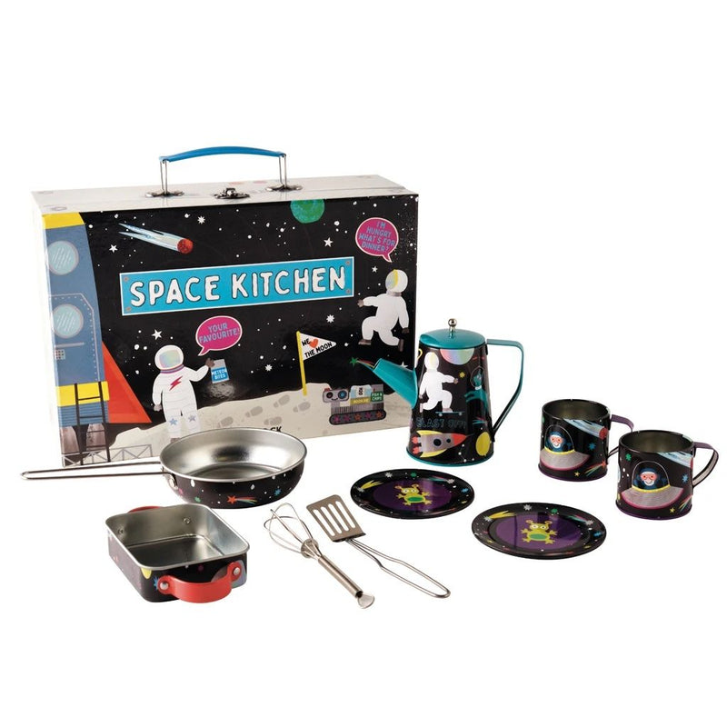 Tin Kitchen Set- Space by Floss and Rock at Crane and Kind