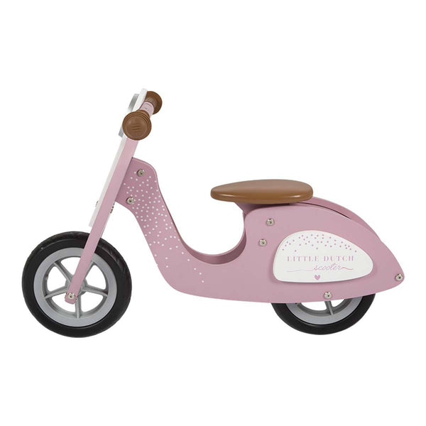 Ex Display Pink Wooden Scooter