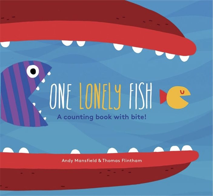one lonely fish at crane and kind board book