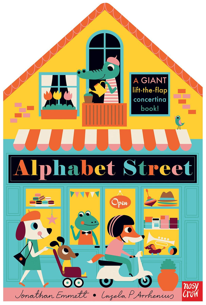alphabet street book at crane and kind