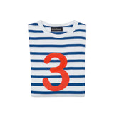 Blue & Red Number Tee