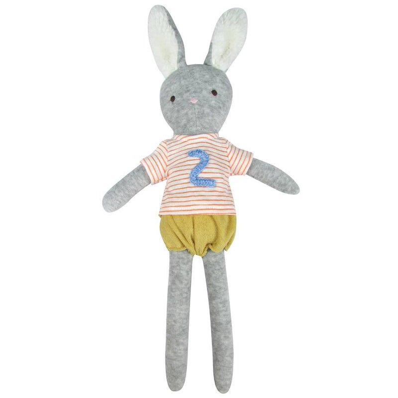 2nd Birthday Bunny Toy by albetta at crane and kind