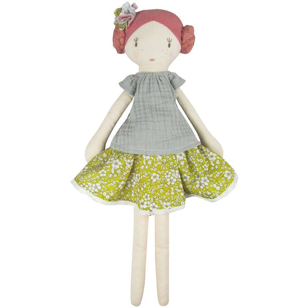 Flower Leonie Doll by Albetta at Crane and Kind