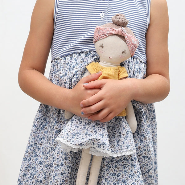 Flower Florence Doll by Albetta at Crane and Kind