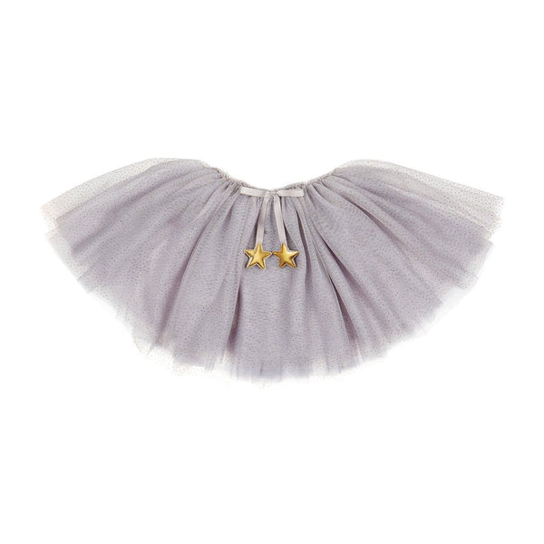 grey sparkle gold glitter dot and gold stars tutu by Mimi and Lula and Crane and Kind