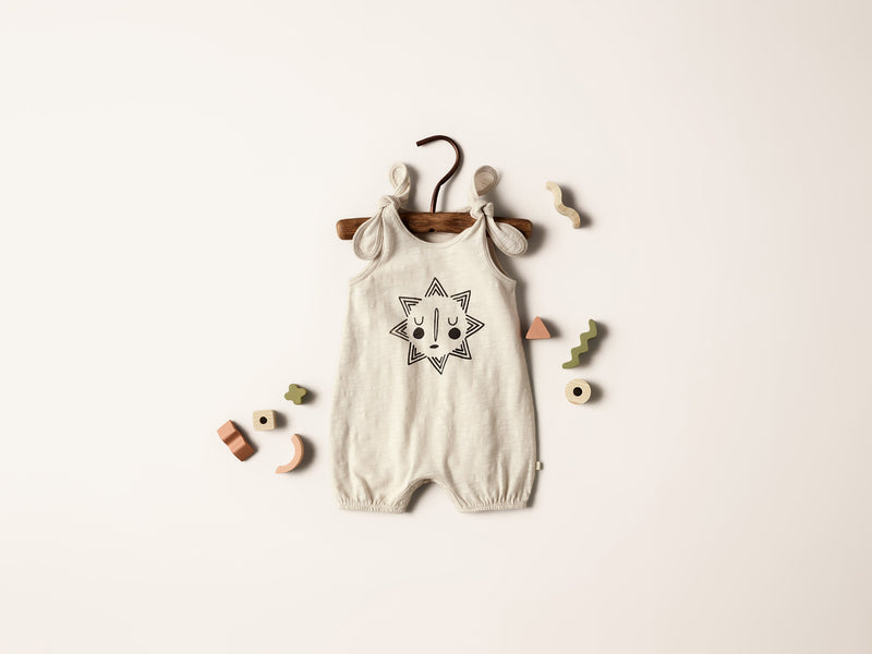 Smiling sun tie playsuit by Wilson and Frenchy at Crane and Kind