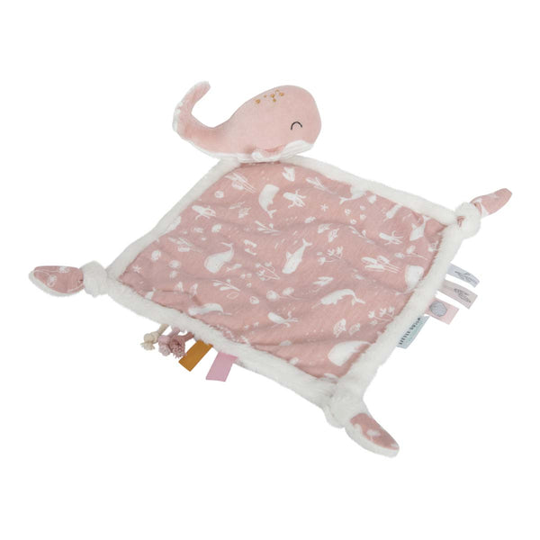Pink Ocean Cuddle Cloth