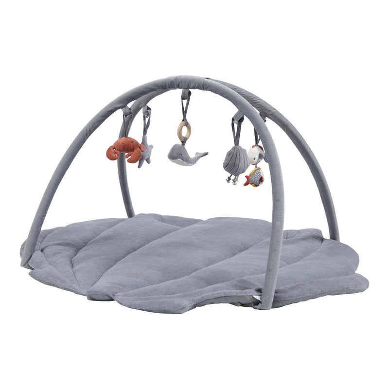 Blue Clam Shell Baby Activity Gym