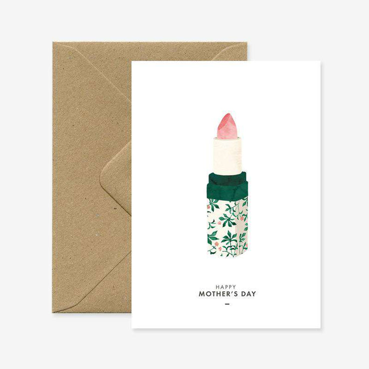 Mother's Day Lipstick Card