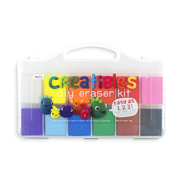 DIY Erasers Kit- Set of 12 by Ooly at Crane and Kind
