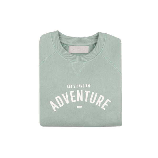 Let's Have An Adventure Sweatshirt - Crane and Kind