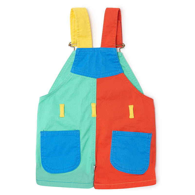 Primary Colourblock Dungarees by Dotty Dungarees at Crane and Kind