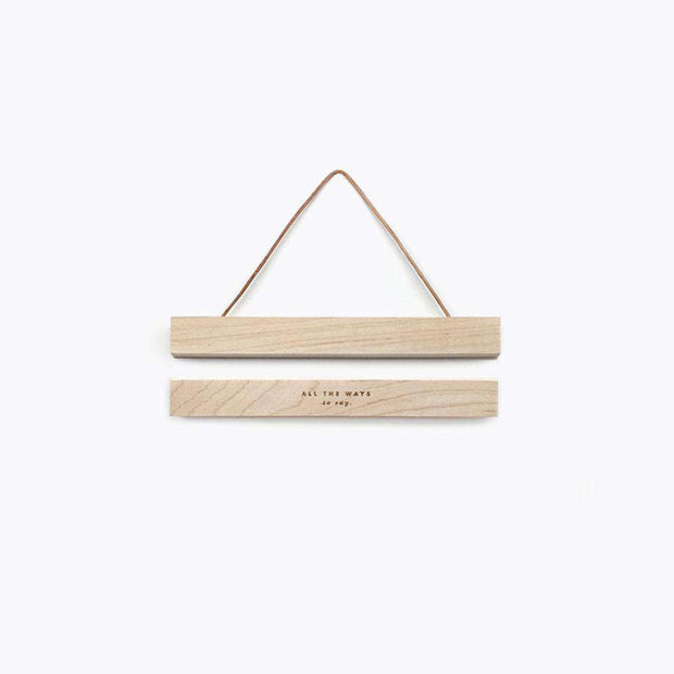 Small Wooden Magnetic Hanger