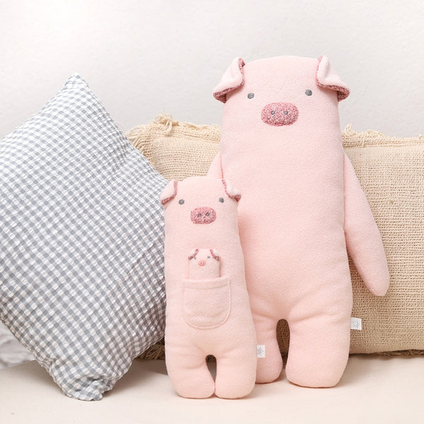 Pig Towelling Toy