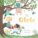 The Girls - Crane and Kind shows 4 girl friends hanging off a tree together