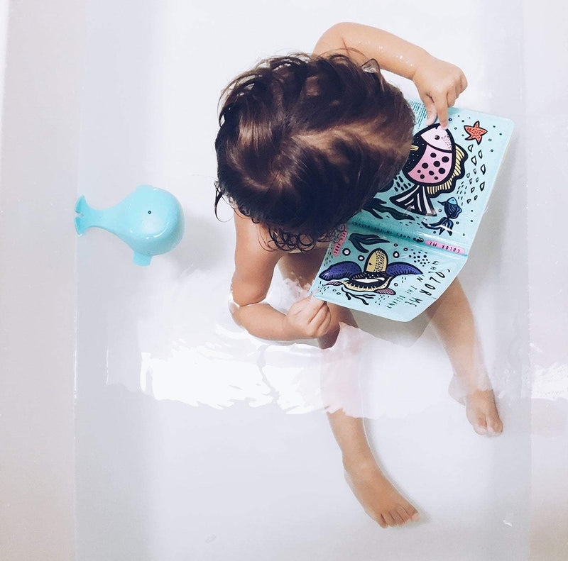 Colour Me: Who's In The Ocean - Baby's First Bath Book