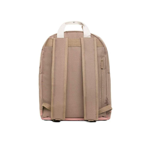 Pink & Taupe Animal Print Adults Backpack - Capsule