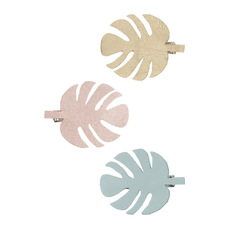 palm leaf clips by mimi and Lula at crane and kind