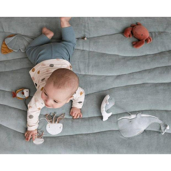 Mint Ocean Padded Playmat