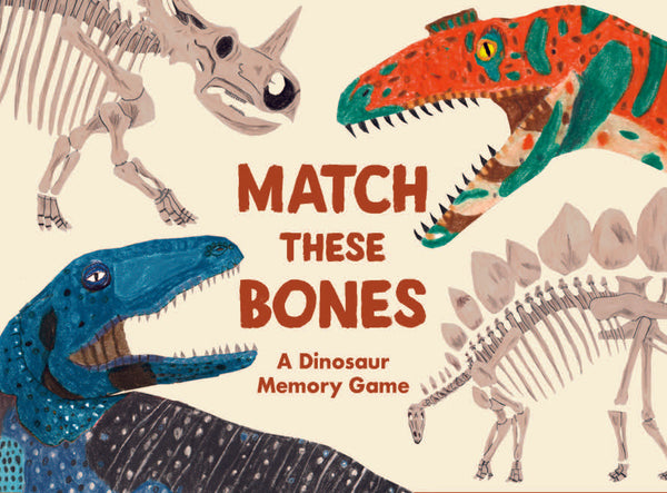 Match These Bones - Dinosaur Memory Game