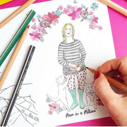 Personalise Your Own Mum in a Million Card - Crane and Kind