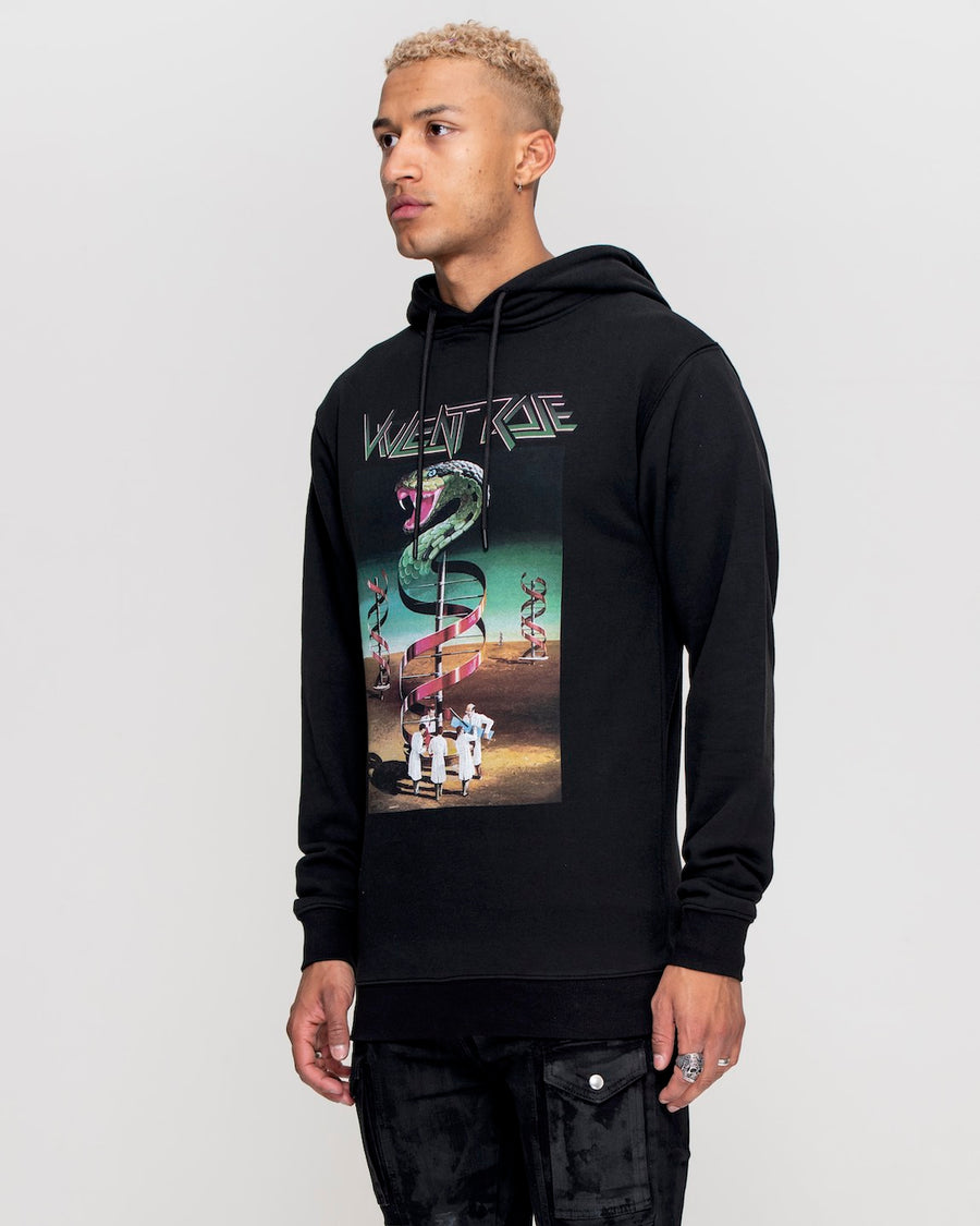 Cobra Hoodie Black - Mens Graphic Hoodies