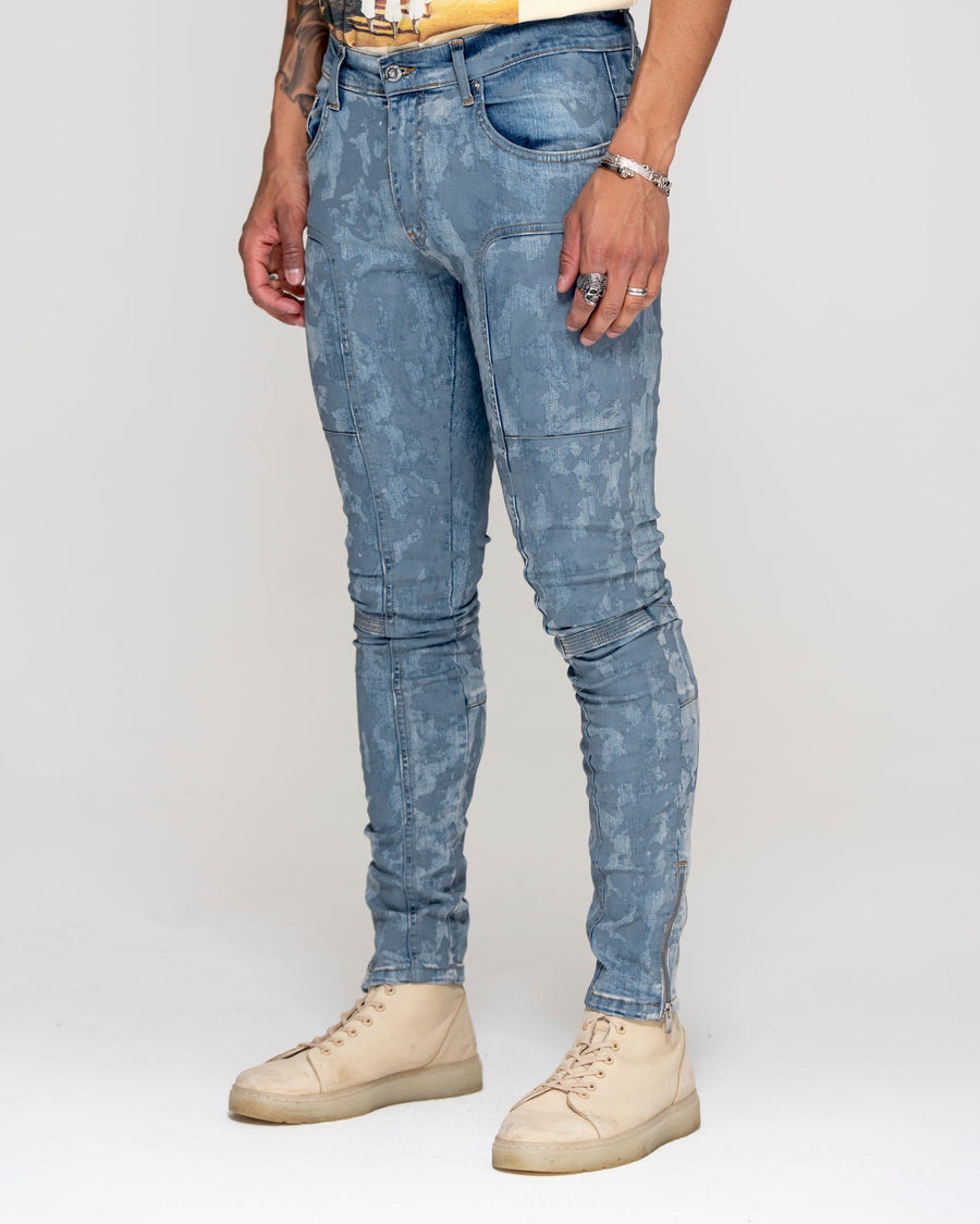 Essential Jeans Blue Wax - Men's Slim Fit Jeans