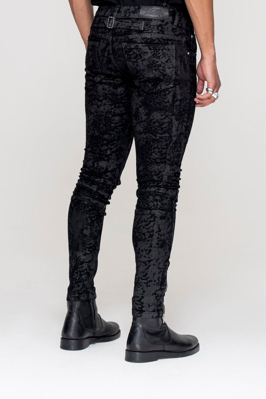 Essential Jeans Black Wax